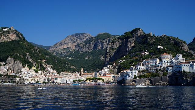 Amalfi panorâmica