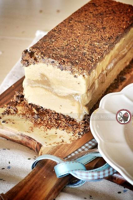 Biscoff Ice Cream Terrine With Vegemite Salted Caramel and… | Flickr ...