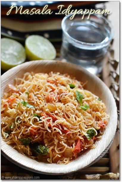 Masala Idiyappam Recipe