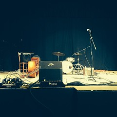 Waiting on the music of #LeahGardner. #BristolRhythm  #RhythmandRoots #BristolTheater