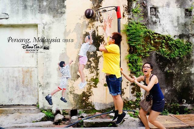 18. Penang's Art Street