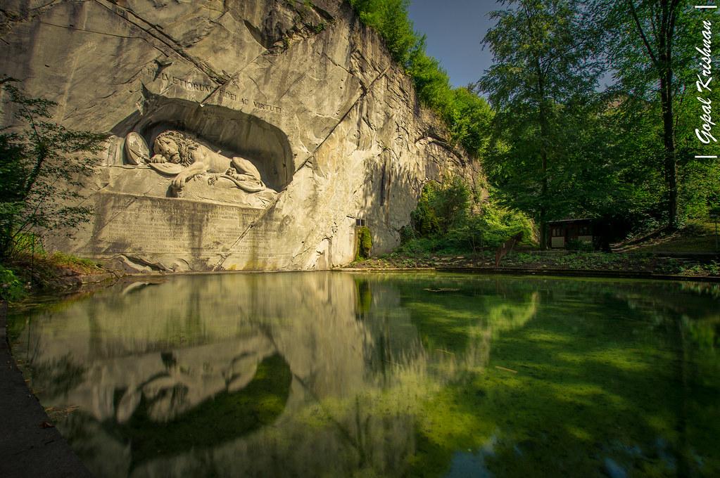 Lion Monument @Lucerne