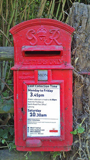 Letterbox, Coombes, West Sussex