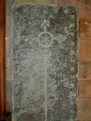 14th century incised slab