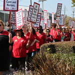 Informational Picket at San Jose Kaiser