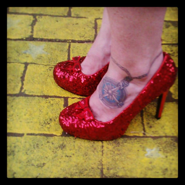 My Ruby Slippers