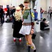 Cute girl in a Boba Fett Dress