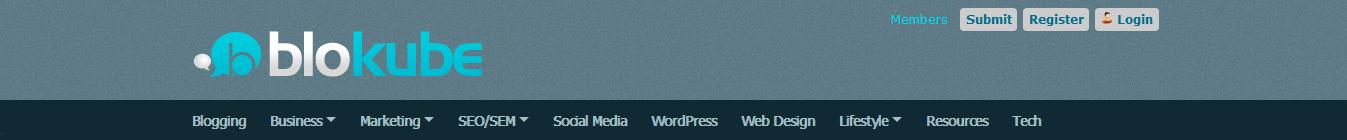 blogging communities -  blokube