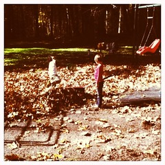 Fall hike with Claire and Isaac