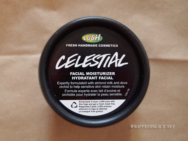 LUSH Celestial Facial Moisturizer Review
