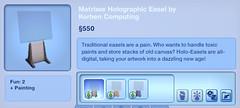 Matrixxe Holographic Easel by Korben Computing