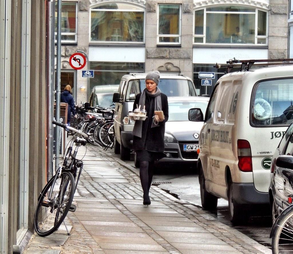 Pretty Copenhagen Latte Stiletto Girl