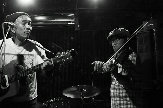 春日善光&石川泰 live at 'aja', Tokyo, 04 Nov 2013. 047