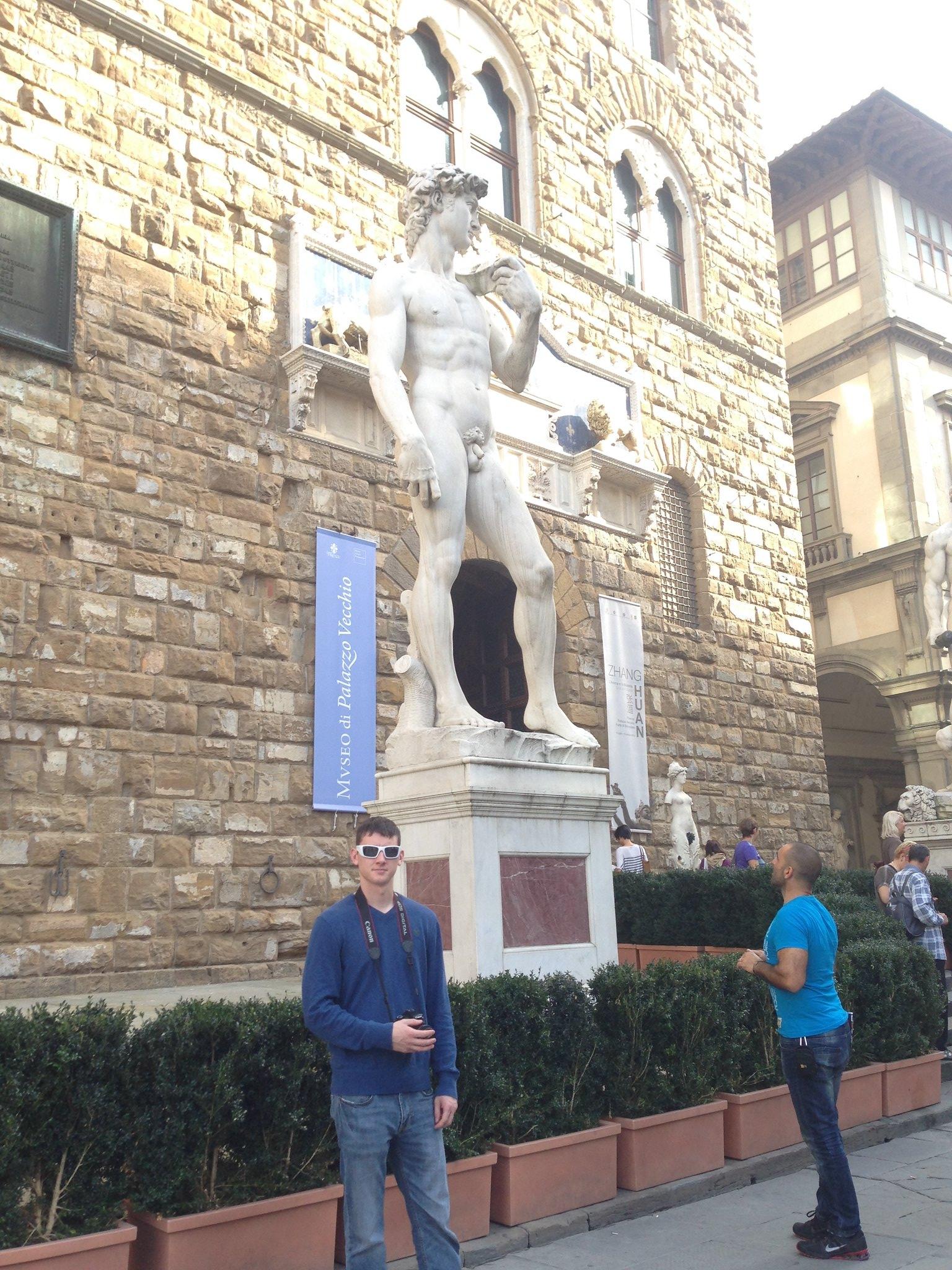 David at Palazzo Vecchio