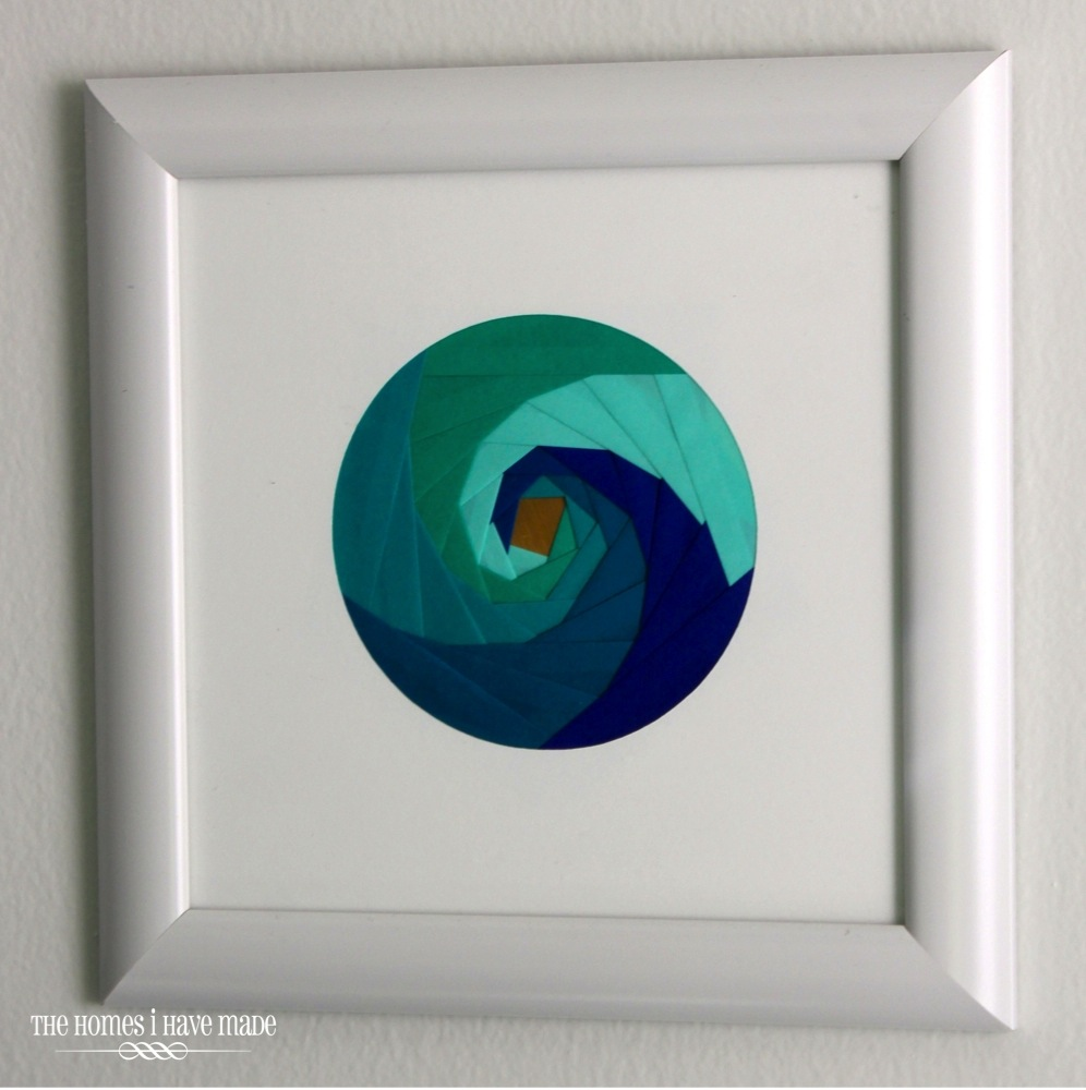Iris Paper Folding Art-013