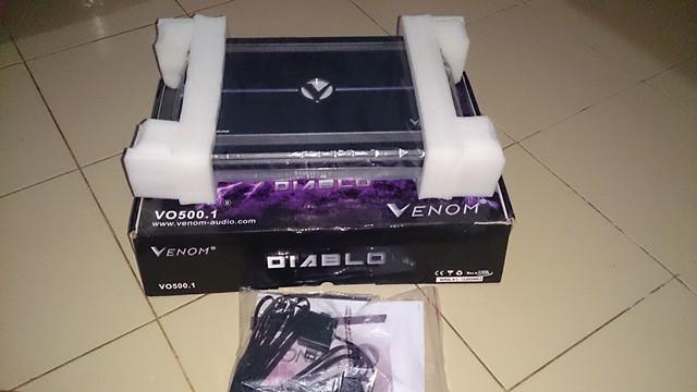 baru monoblock venom diablo vo500 1 4ch venom diablo vo406. Black Bedroom Furniture Sets. Home Design Ideas