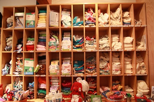All cloth diapers!