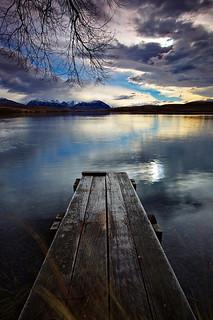 Lake Alexandrina Sunrise