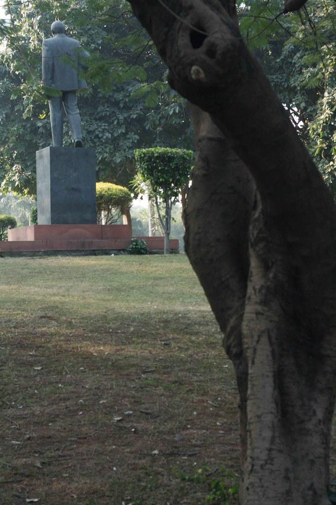 City Landmark - Lenin's Statue, Nehru Park
