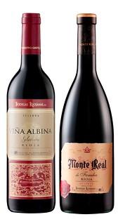 Monte Real y Viña Albina.