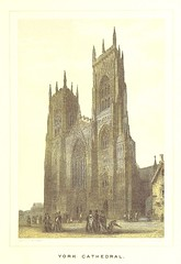 """British Library digitised image from page 17 of """"[York Minster.] Ward and Lock's Illustrated Historical Handbook to York Minster, etc"""""""