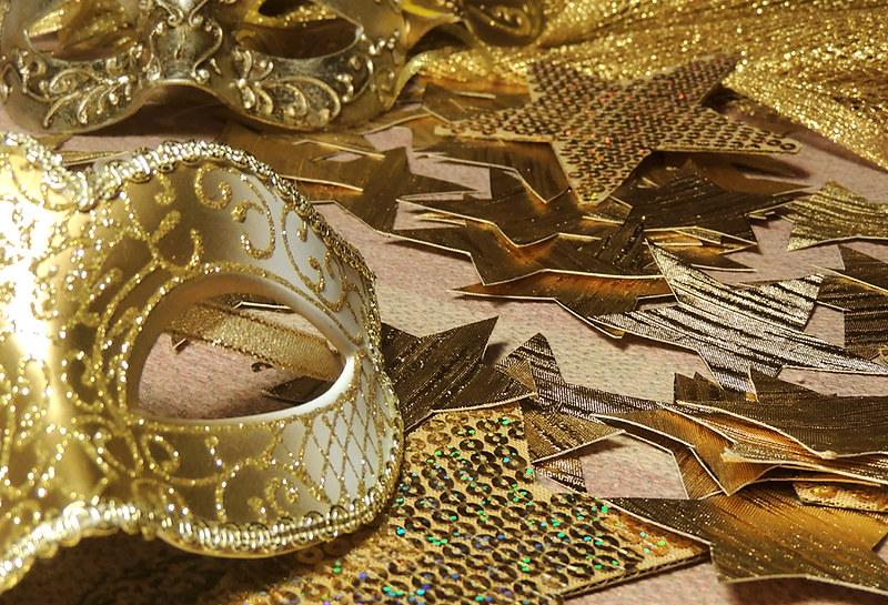 новогодние маски 1