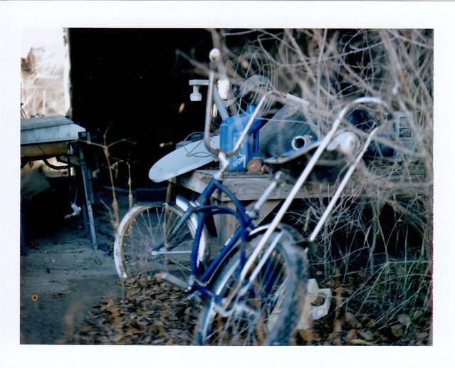 abandoned banana seat bike - glenwood, new mexico