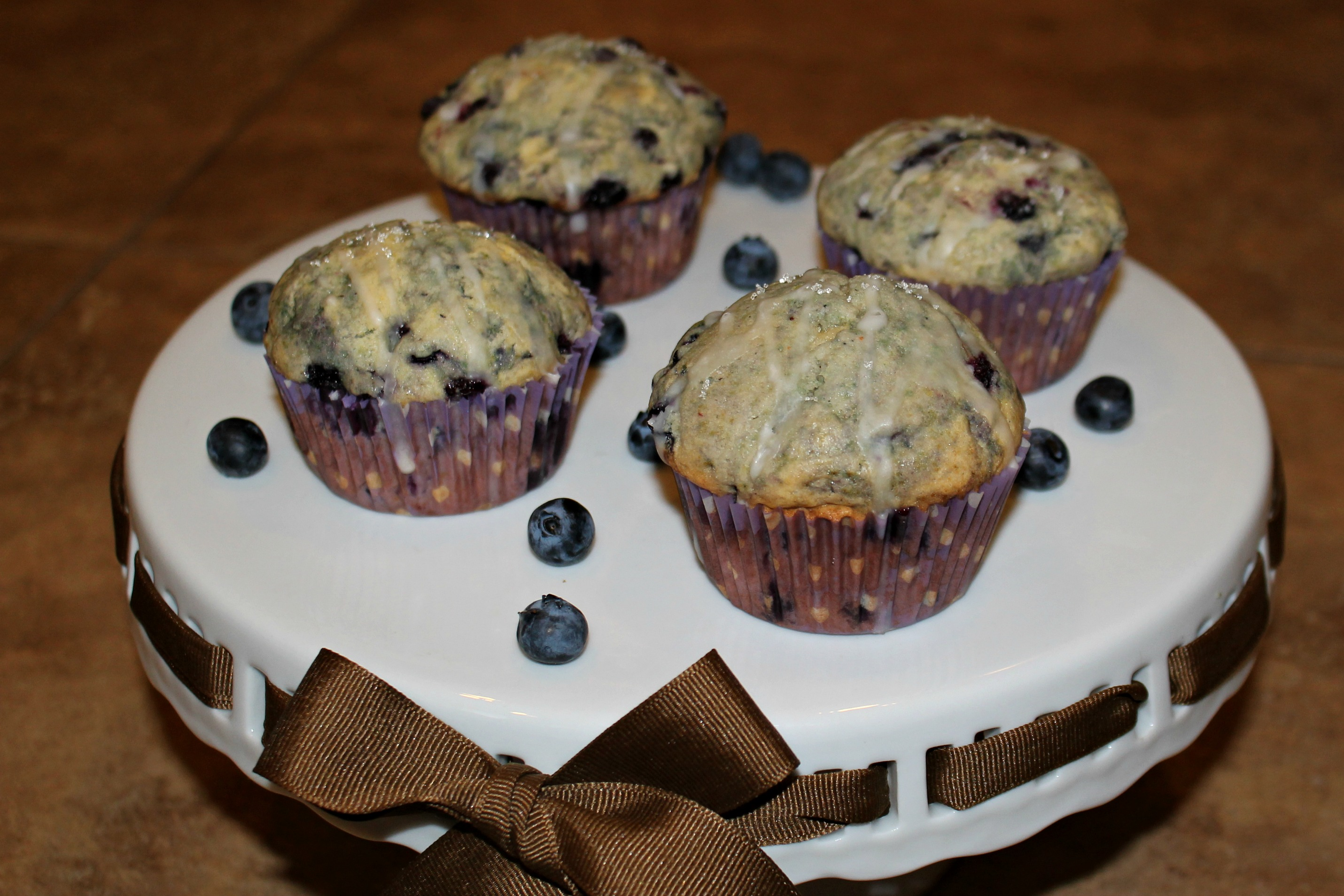 Blueberry Citrus Muffins - finished
