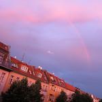 Rainbow over Neukölln - Berlin, Germany