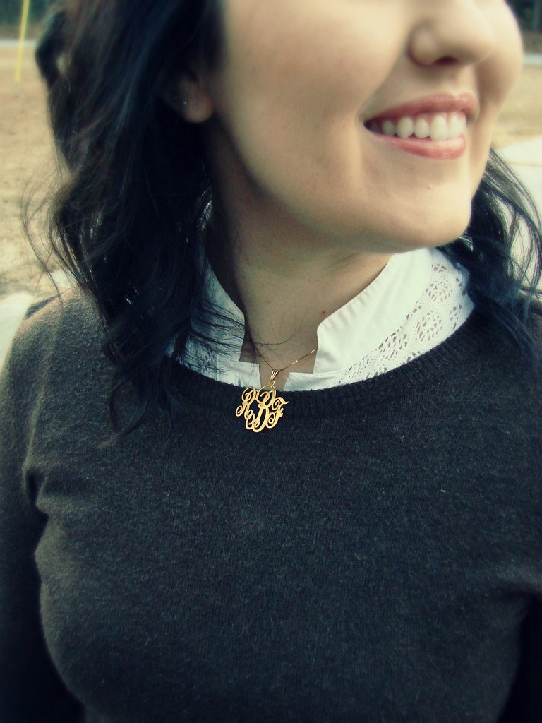 oNecklace Monogram Necklace
