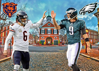 BEARS @ EAGLES VIII