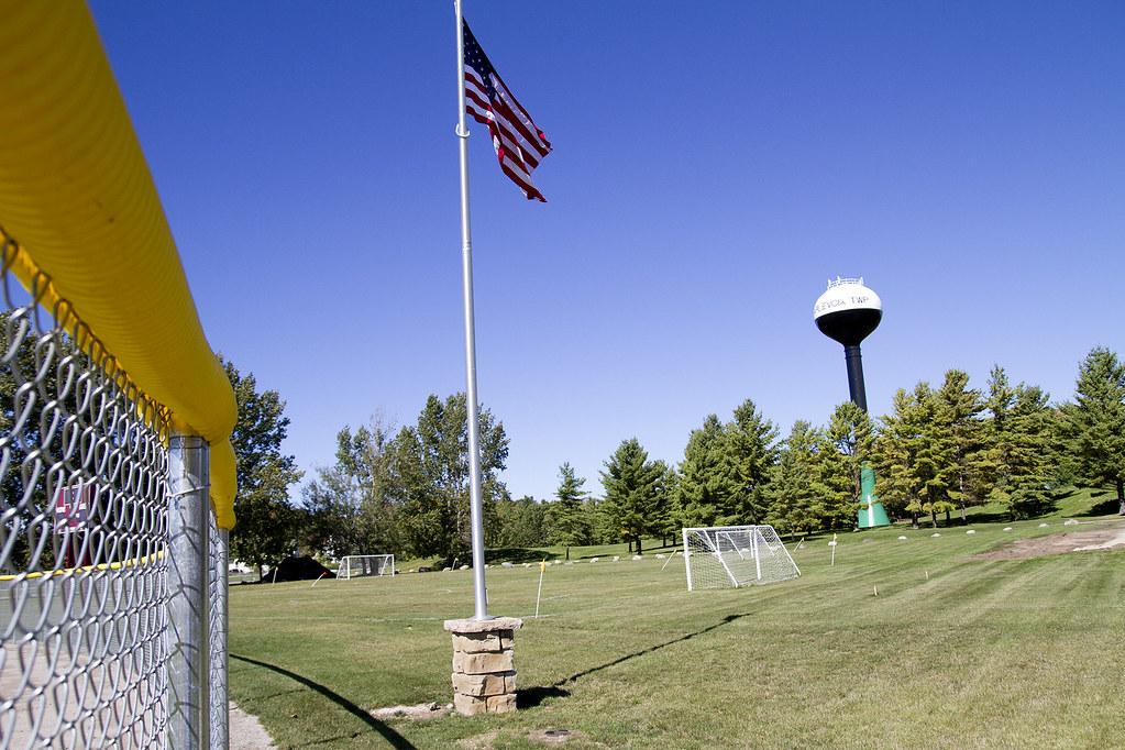 Shanahan Field Flag Pole Base