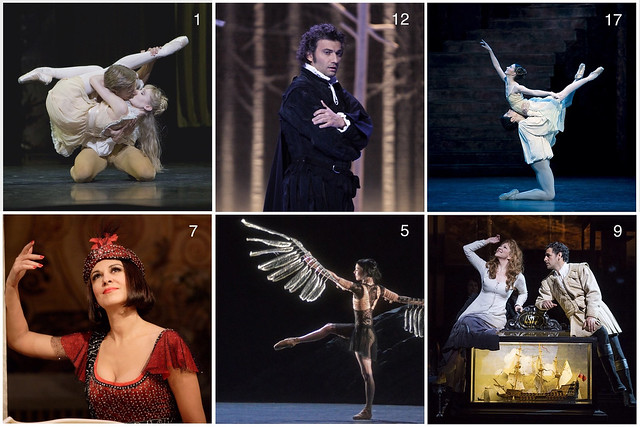 Royal Opera House advent calendar images from throughout 2013