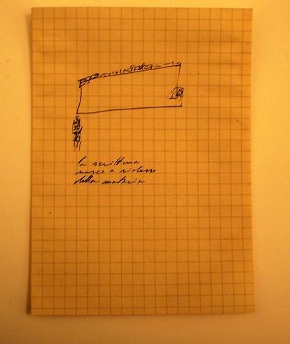 marco giovenale - la scrittura nasce a ridosso della materia_ by jim leftwich