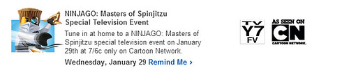 LEGO Ninjago Cartoon Network