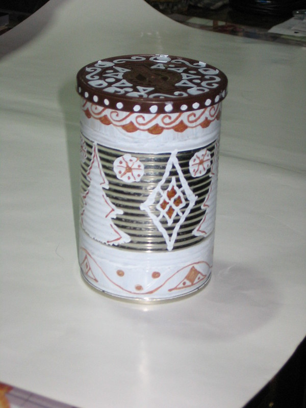 Баночка для кофе-чая