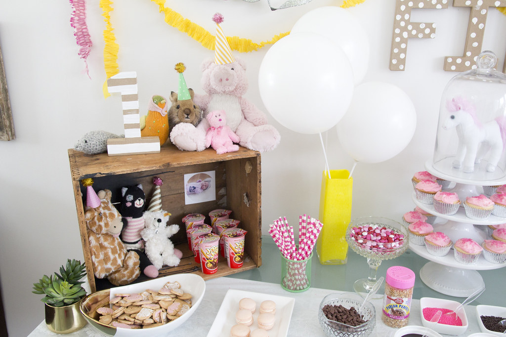 a stuffed animal 1st birthday party jen loves kev