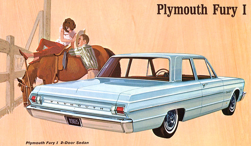 1965 Plymouth Fury sedan by Rickster G