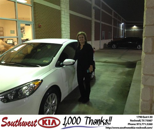 Southwest Kia Rockwall >> Southwest Kia Rockwall Texas Thank You To Denise Welch On