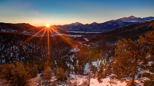 sunrise colorado unitedstates estespark rockymountainnationalpark