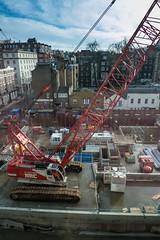 Big Crane at the Crossrail site
