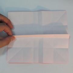 วิธีพับกระดาษพับดอกกุหลาบ 012