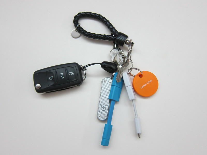 Chipolo - Attached To Keychain