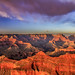 Sunset Over a Grand Canyon by dcumminsusa