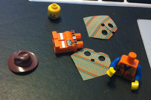 The LEGO Movie Western Emmet