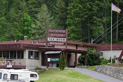 Rossland Museum, Rossland, Kootenays, Kootenay Rockies, British Columbia, Canada