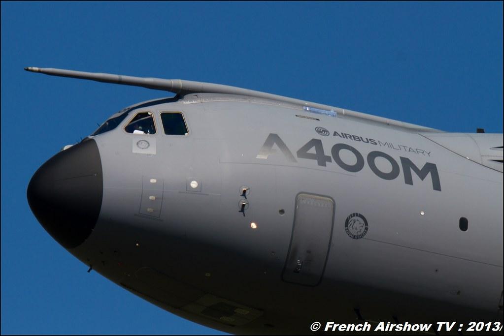 A-400M Airbus Military,60 ans Patrouille de France , Meeting Aerien 2013