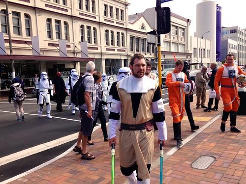 Star Wars convention in Dunedin?