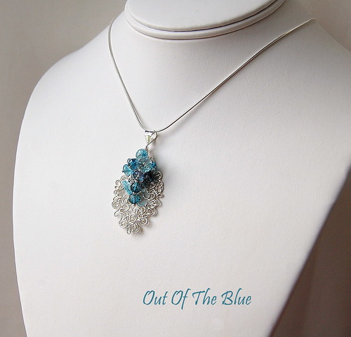 Out f The Blue Pendant by gemwaithnia