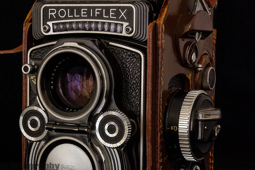 Rolleiflex Using 60mm Macro